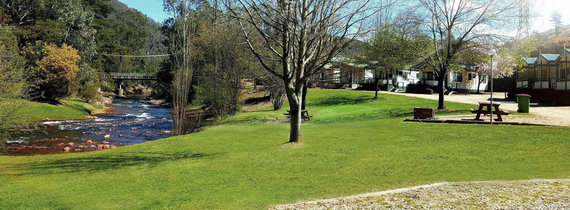 Bright Riverside Holiday Park Accommodation