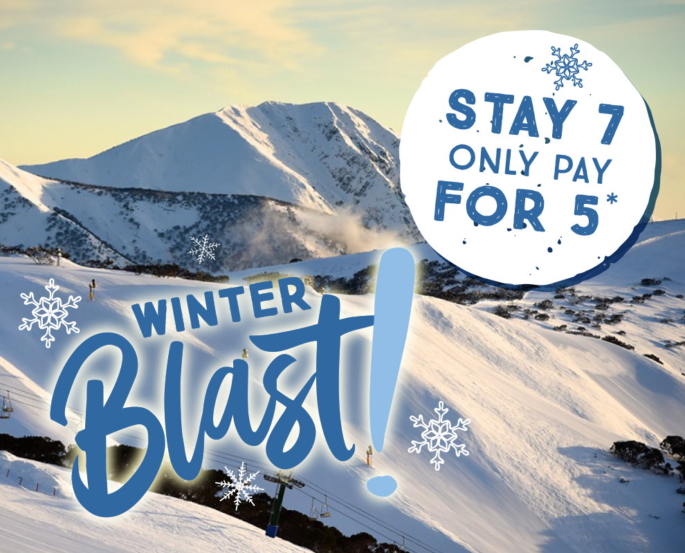 Winter Blast Stay 7, Pay for 5