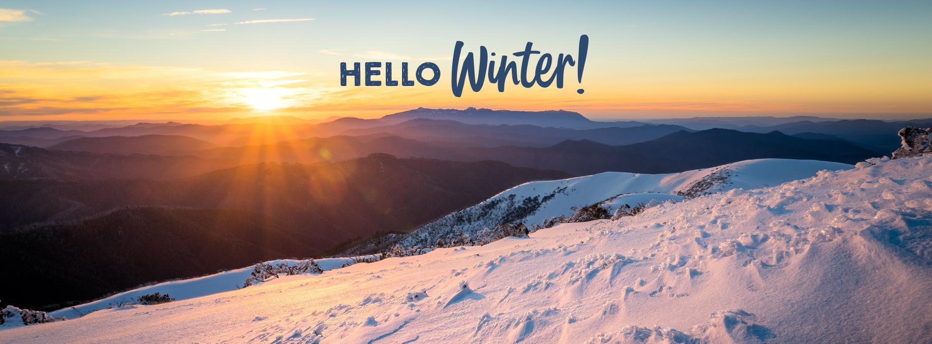 Winter in Bright Victoria Holiday COVID-19 Coronavirus